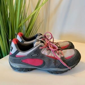 Asolo Alias Women's Hiking Shoe Size 8 Gray Pink